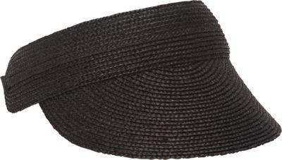 Helen Kaminski Losolo Visor One Size - Charcoal - Helen Kaminski Hats/Gloves/Scarves