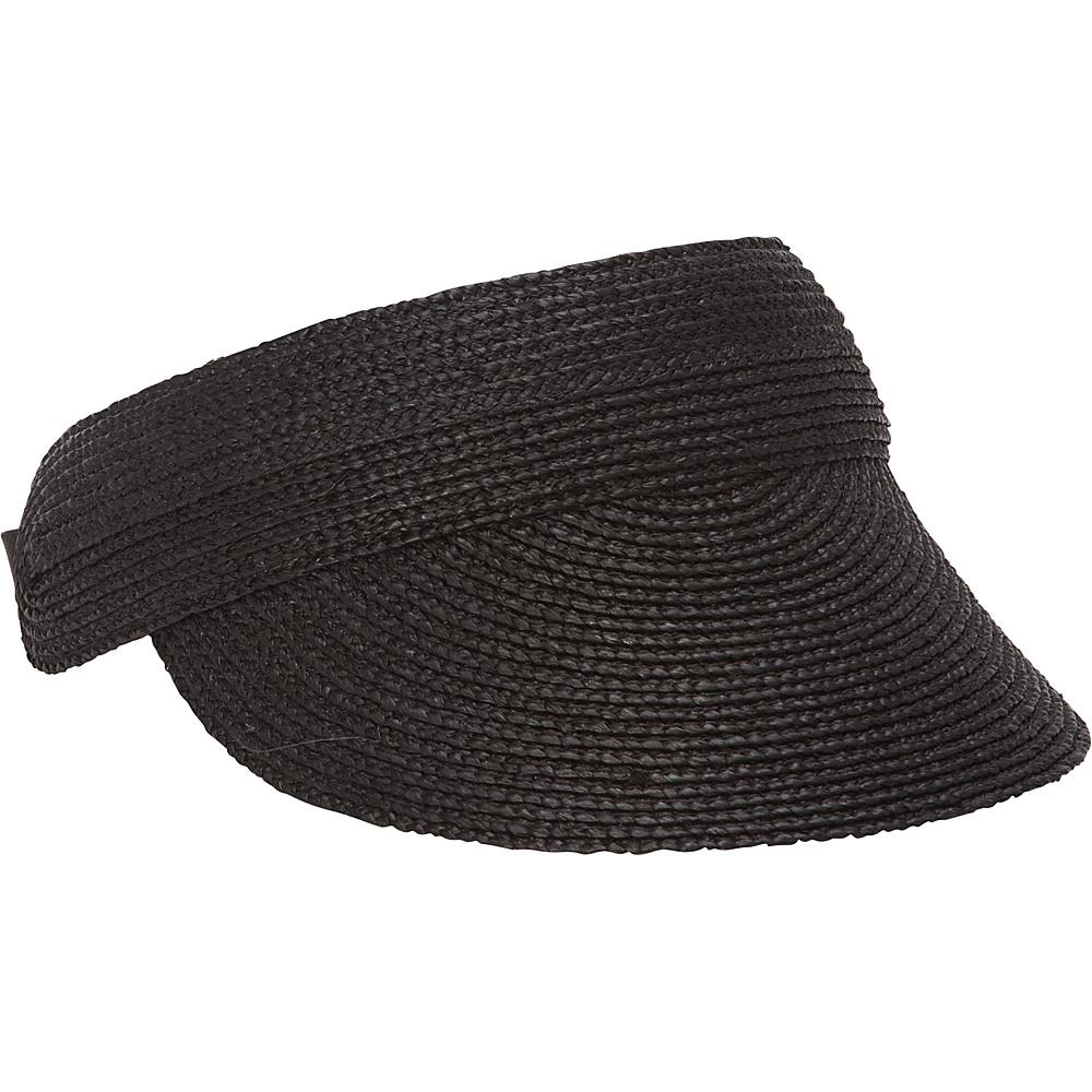 Helen Kaminski Losolo Visor Charcoal Helen Kaminski Hats Gloves Scarves