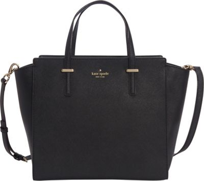 kate spade new york Cedar Street Hayden Black - kate spade new york Designer Handbags