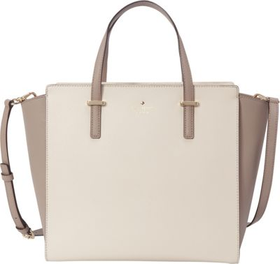kate spade new york Cedar Street Hayden Pebble/Warm Putty - kate spade new york Designer Handbags