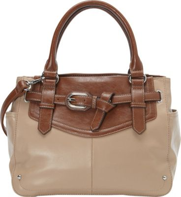 Tignanello The Statement Satchel Frappe - Tignanello Leather Handbags