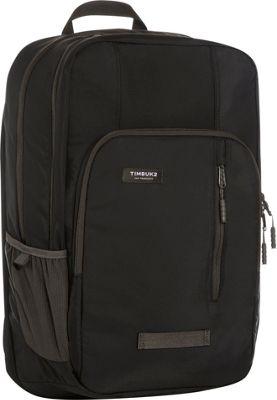 Timbuk2 Uptown Travel Backpack Jet Black - Timbuk2 Business & Laptop Backpacks