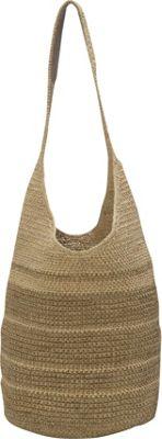 Helen Kaminski Carillo Stripe Shoulder Bag Meadow Melange/Pistachio Melange - Helen Kaminski Designer Handbags