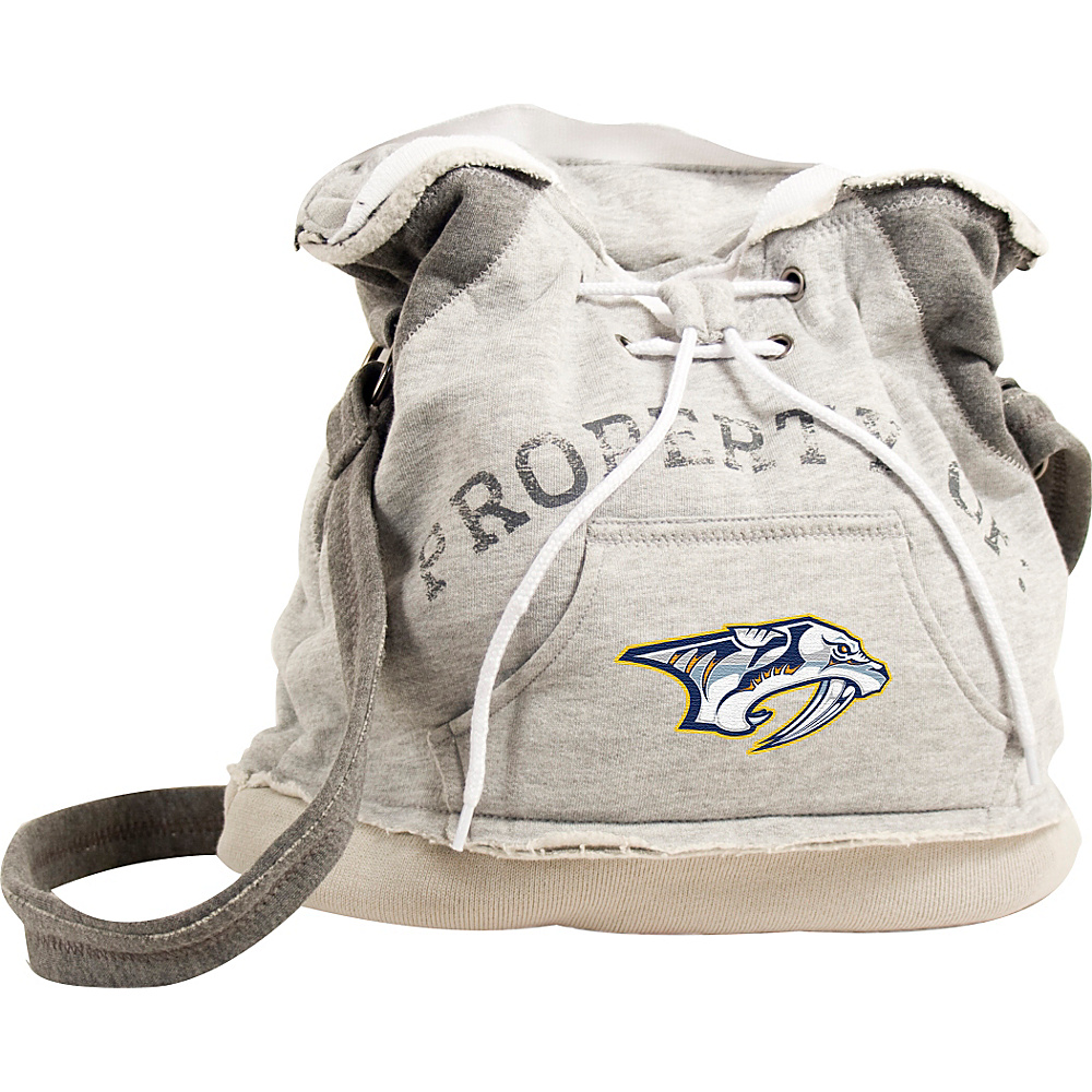 Littlearth Hoodie Shoulder Bag - NHL Teams Nashville Predators - Littlearth Fabric Handbags