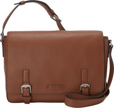MICHAEL Michael Kors Men's Bryant Pebbled Messenger Luggage - MICHAEL Michael Kors Men's Messenger Bags