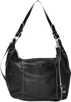 Ellington Handbags Alex Hobo Crossbody Black - Ellington Handbags Leather Handbags