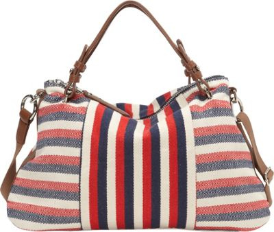 Splendid Monterey Satchel Multi Stripe - Splendid Designer Handbags
