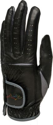 Image of Glove It Greg Norman Men's Golf Glove Black Medium Left Hand - Glove It Sports Accessories