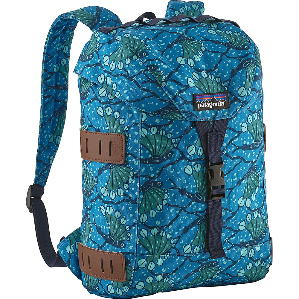 Patagonia Kids Bonsai Pack 14L Buffalo Green - Patagonia Kids Backpacks - Backpacks, Kids' Backpacks