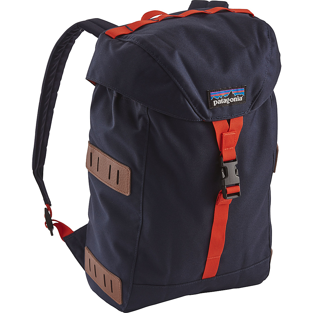 Patagonia Kids Bonsai Pack 14L Navy Blue w/Paintbrush Red - Patagonia Kids Backpacks - Backpacks, Kids' Backpacks