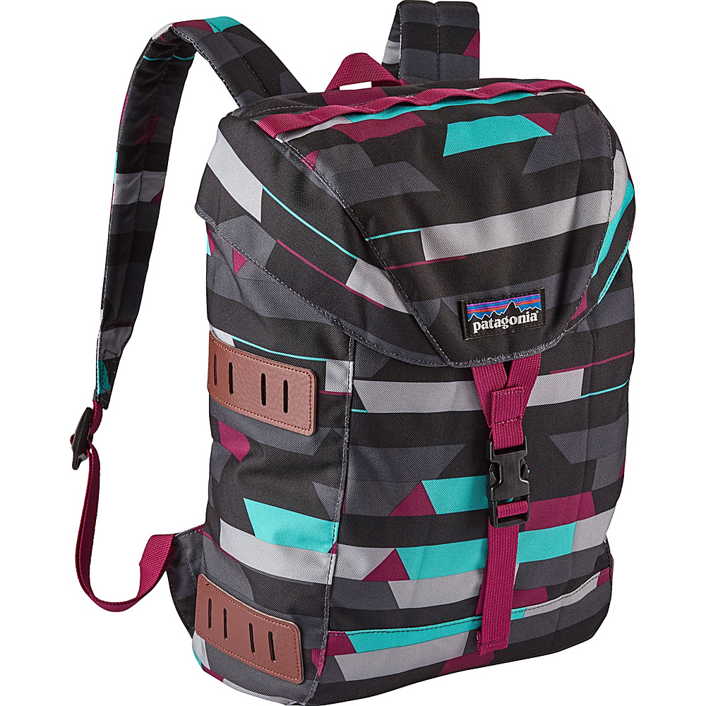 Patagonia Kids Bonsai Pack 14L Upstream Stripe: Smolder Blue - Patagonia Kids Backpacks - Backpacks, Kids' Backpacks