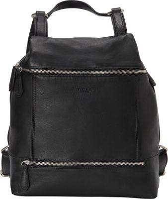 Perlina Anaise Backpack Black - Perlina Leather Handbags