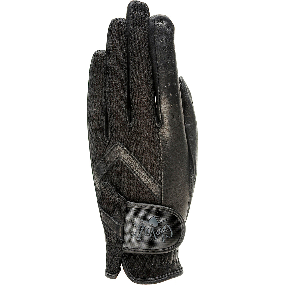 Glove It Women s Solid Golf Glove Black Medium Left Hand Glove It Sports Accessories