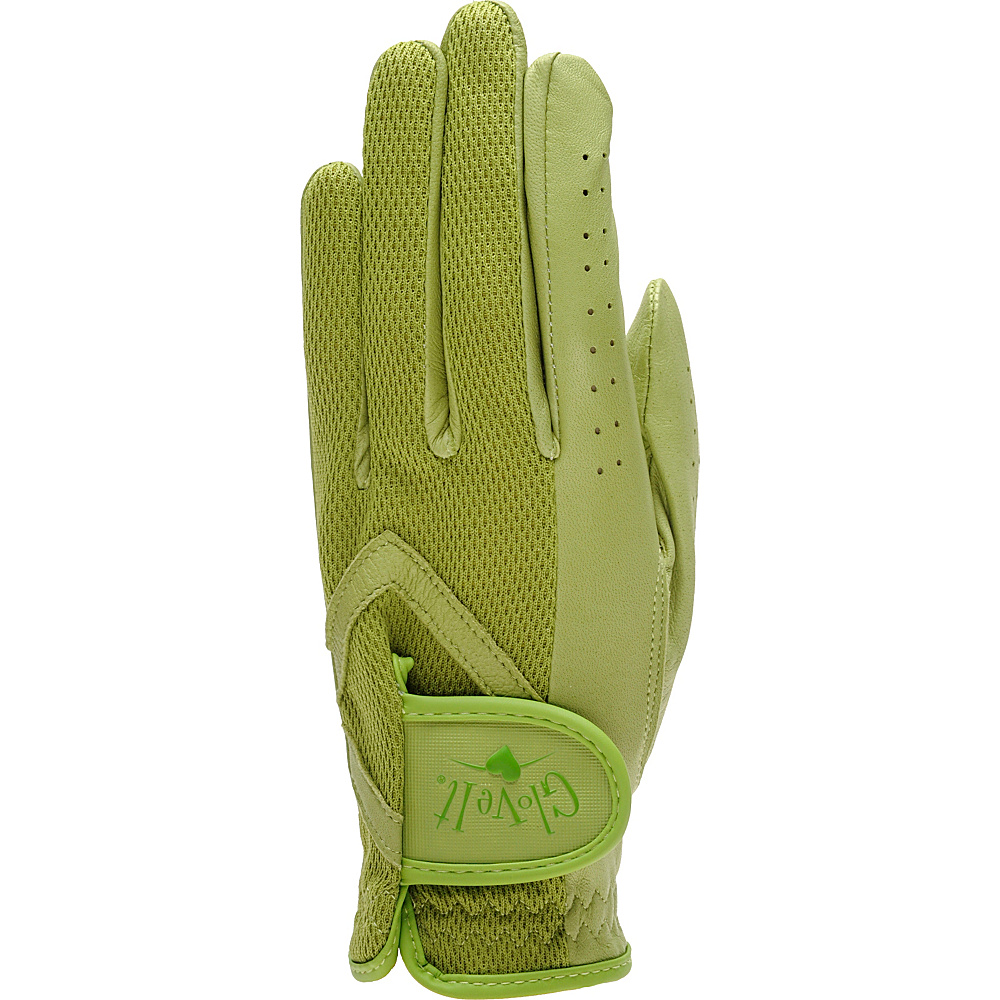 Glove It Women s Solid Golf Glove Green Medium Left Hand Glove It Sports Accessories