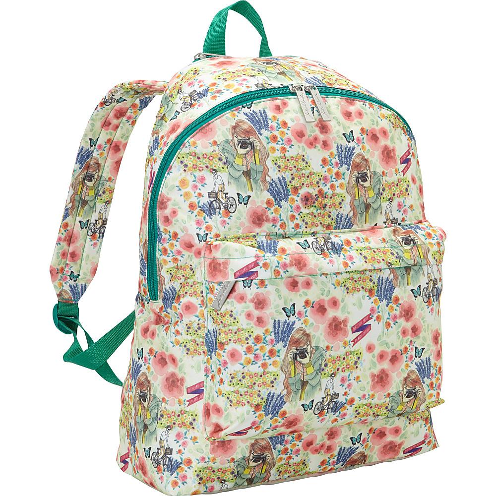 Miquelrius Jordi Labanda Floral Backpack Floral Multi Miquelrius Everyday Backpacks