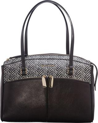 Cole Haan Reddington Satchel Black/Snake - Cole Haan Designer Handbags