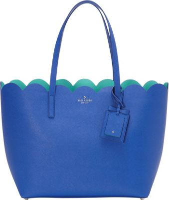 kate spade new york Lily Avenue Carrigan Tote Island Deep/Fresh Air - kate spade new york Designer Handbags