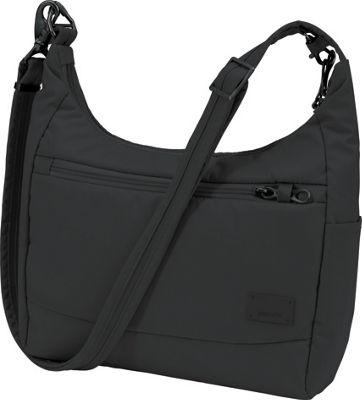 Pacsafe Citysafe CS100 Anti-Theft Crossbody Black - Pacsafe Fabric Handbags