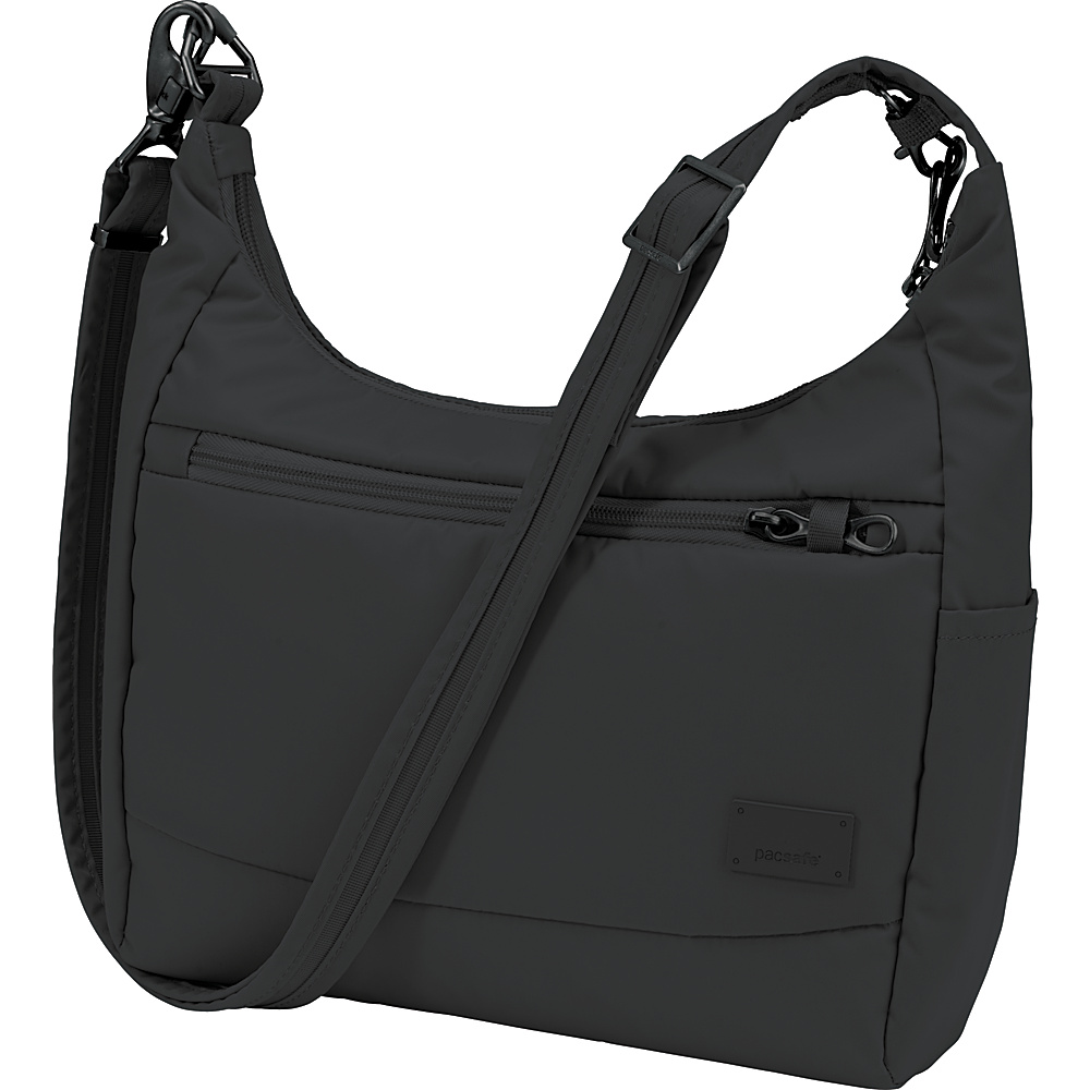 Pacsafe Citysafe CS100 Black Pacsafe Fabric Handbags