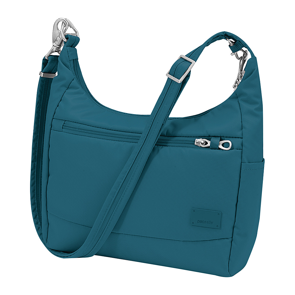 Pacsafe Citysafe CS100 Teal Pacsafe Fabric Handbags