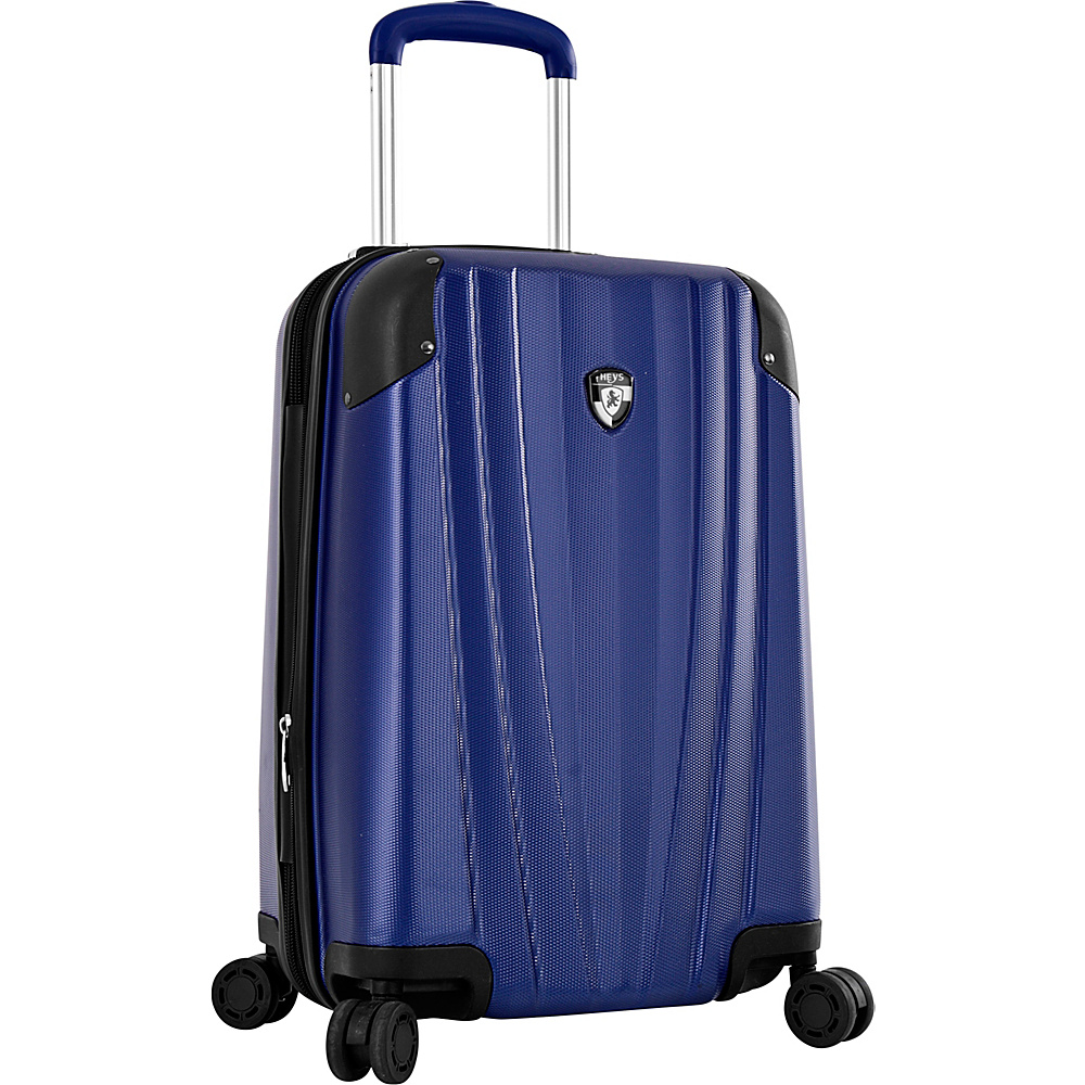 Heys America Velocity 21 Carry On Spinner Luggage Cobalt Heys America Hardside Carry On