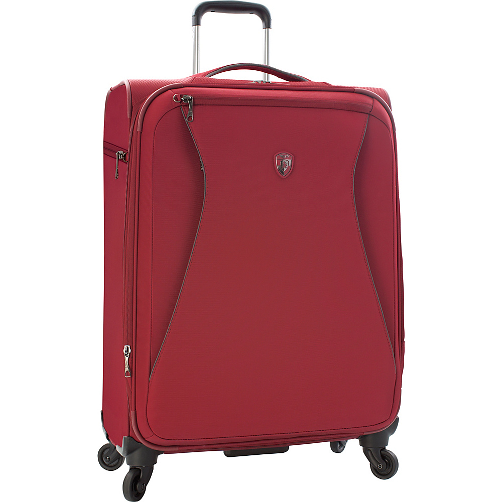 Heys America Helix 26 Spinner Luggage Red Heys America Softside Checked