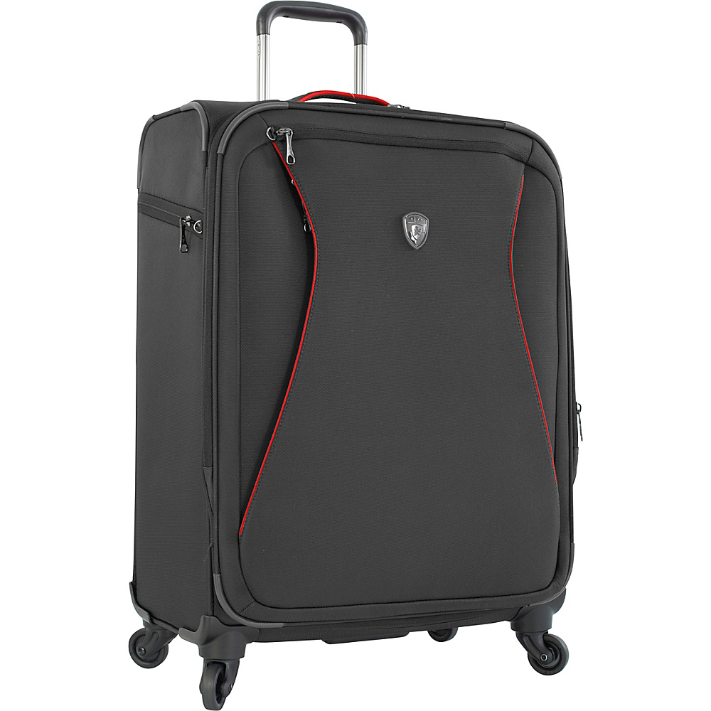 Heys America Helix 26 Spinner Luggage Black Heys America Softside Checked