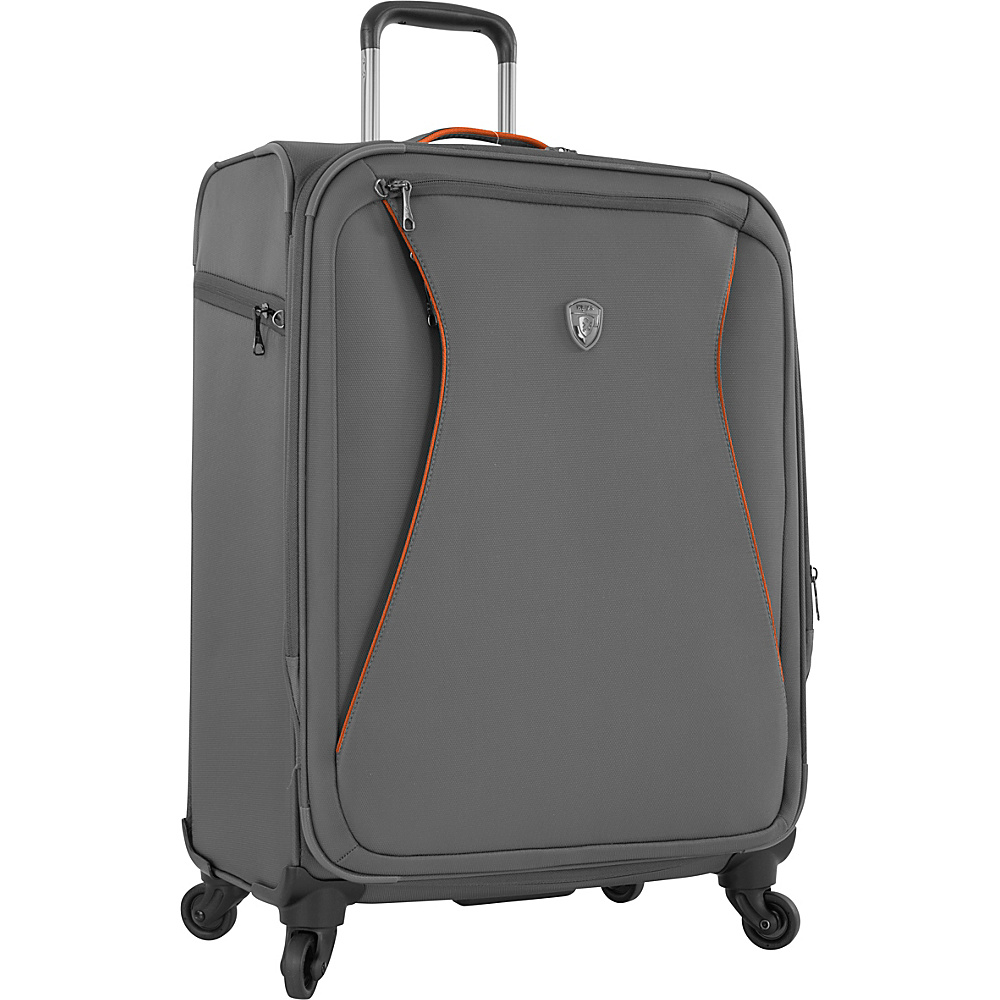Heys America Helix 26 Spinner Luggage Charcoal Heys America Softside Checked