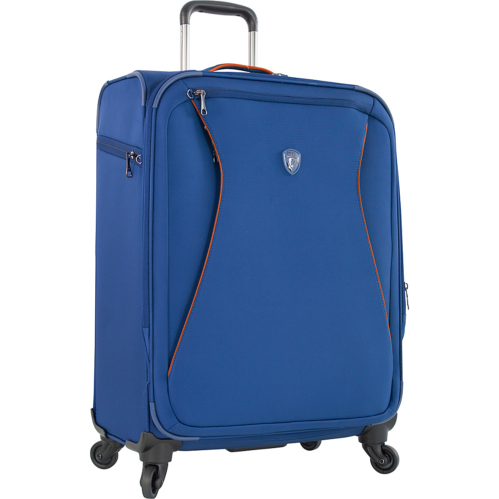 Heys America Helix 26 Spinner Luggage Blue Heys America Softside Checked