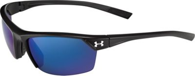 Under Armour Eyewear Roll Out Sunglasses Satin Crystal Tortoise/Green - Under Armour Eyewear Sunglasses
