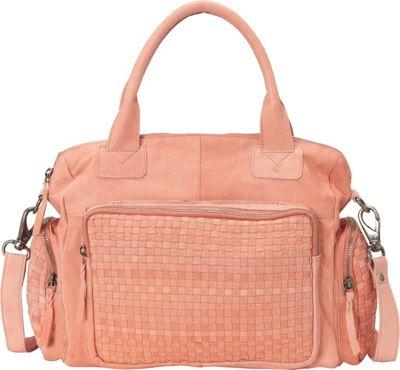 Latico Leathers Abbe Satchel Pink - Latico Leathers Leather Handbags