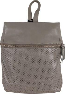 Latico Leathers Riley Backpack Grey - Latico Leathers Leather Handbags