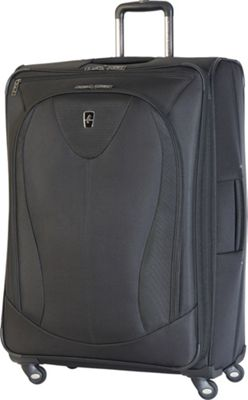 Atlantic Ultra Lite 3 29 inch Expandable Spinner Black - Atlantic Softside Checked
