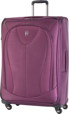 Atlantic Ultra Lite 3 29 inch Expandable Spinner Purple - Atlantic Softside Checked