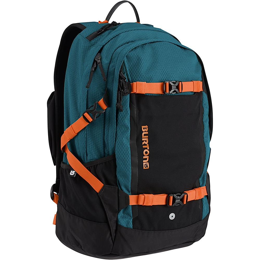 Burton Day Hiker Pro 28L Dark Tide Ripstop - Burton Business & Laptop Backpacks