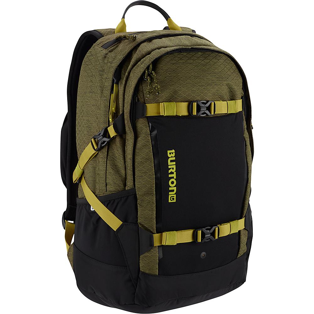 Burton Day Hiker Pro 28L Jungle Heather Diamond Ripstop - Burton Business & Laptop Backpacks