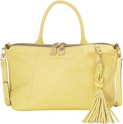 Trina Turk Saratoga Small Satchel Yellow - Trina Turk Designer Handbags