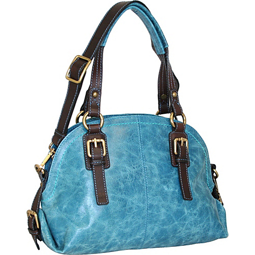 Nino Bossi Bonnie Bowler Denim - Nino Bossi Leather Handbags