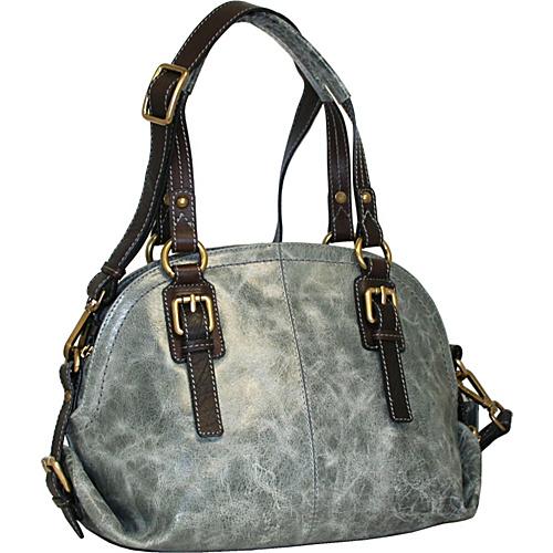 Nino Bossi Bonnie Bowler Stone - Nino Bossi Leather Handbags