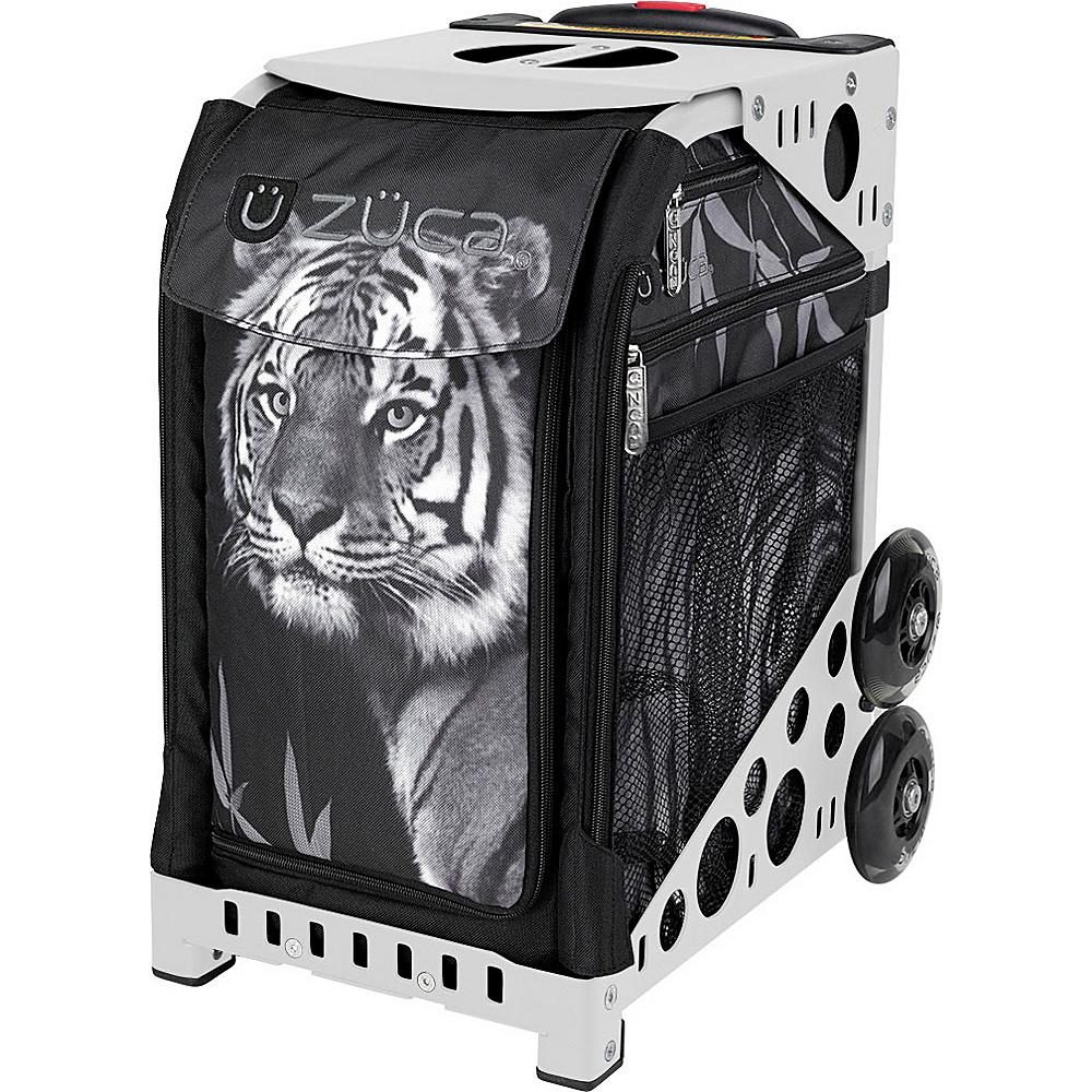 ZUCA Sport Unit Tiger Bag White Frame White Frame and Black Insert ZUCA Softside Checked