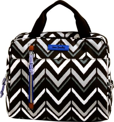 Vera Bradley Lighten Up Lunch Cooler Lotus Chevron - Vera Bradley Travel Coolers