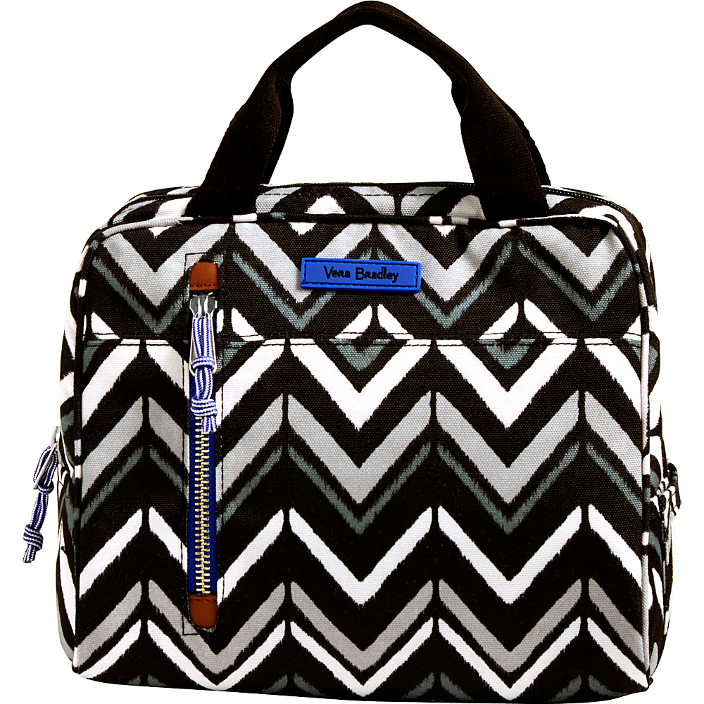 Vera Bradley Lighten Up Lunch Cooler Lotus Chevron - Vera Bradley Travel Coolers - Travel Accessories, Travel Coolers