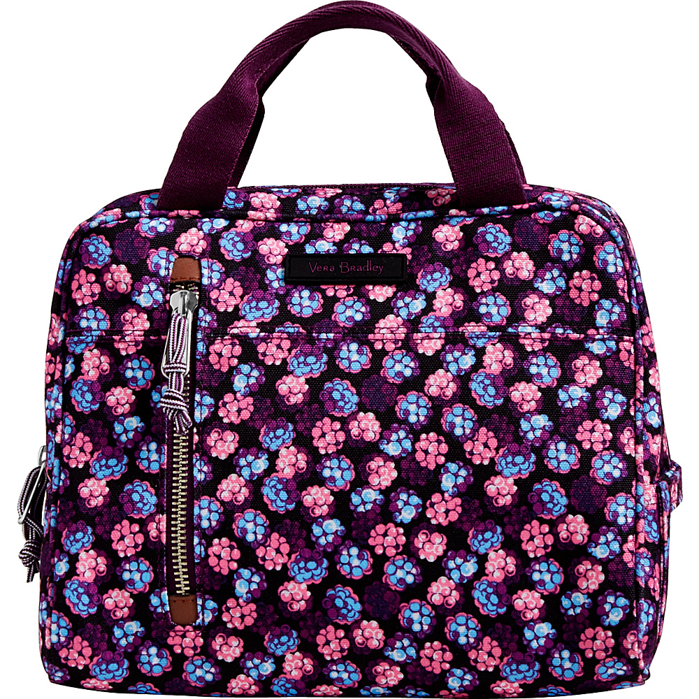 Vera Bradley Lighten Up Lunch Cooler Berry Burst - Vera Bradley Travel Coolers - Travel Accessories, Travel Coolers