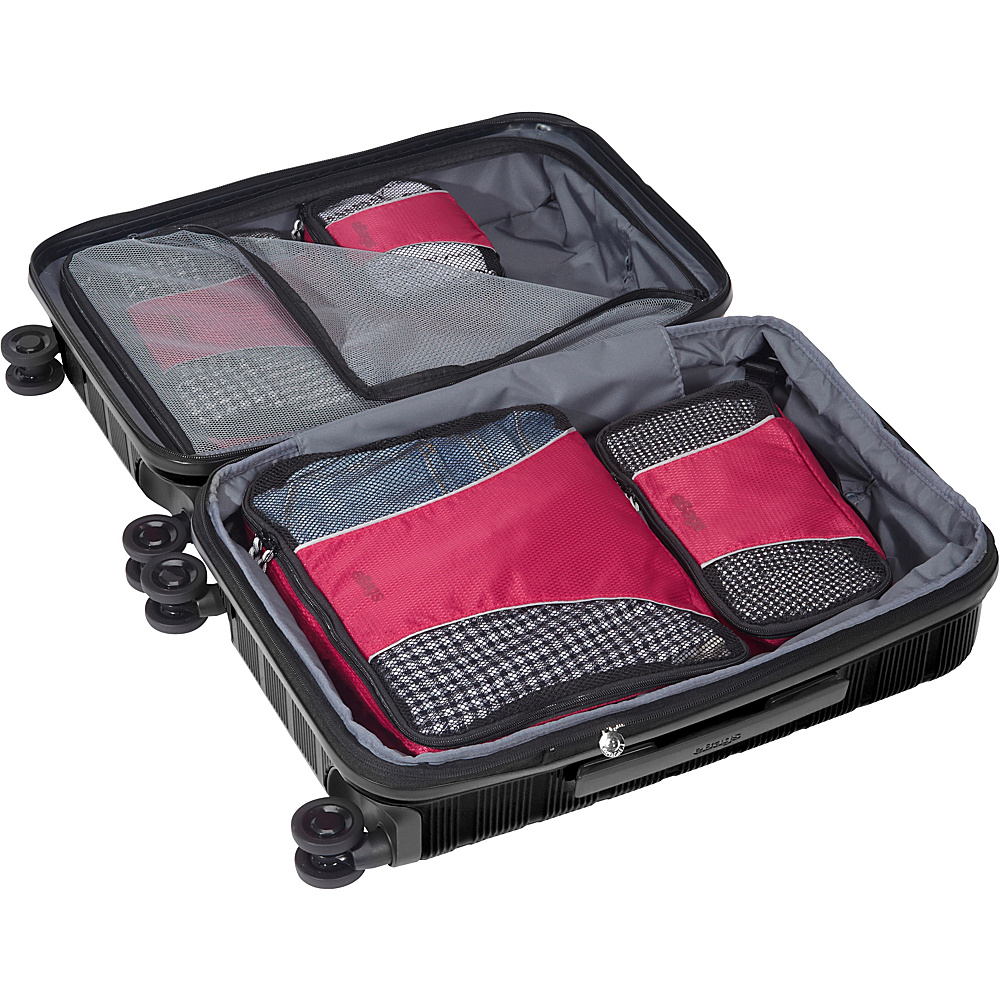 eBags-Packing-Cubes-4pc-Small-Med-Set-5-Colors-Travel-Organizer-NEW thumbnail 9