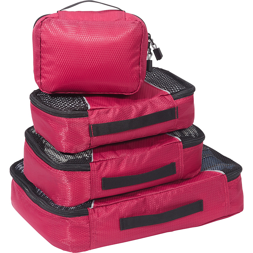eBags-Packing-Cubes-4pc-Small-Med-Set-5-Colors-Travel-Organizer-NEW thumbnail 10