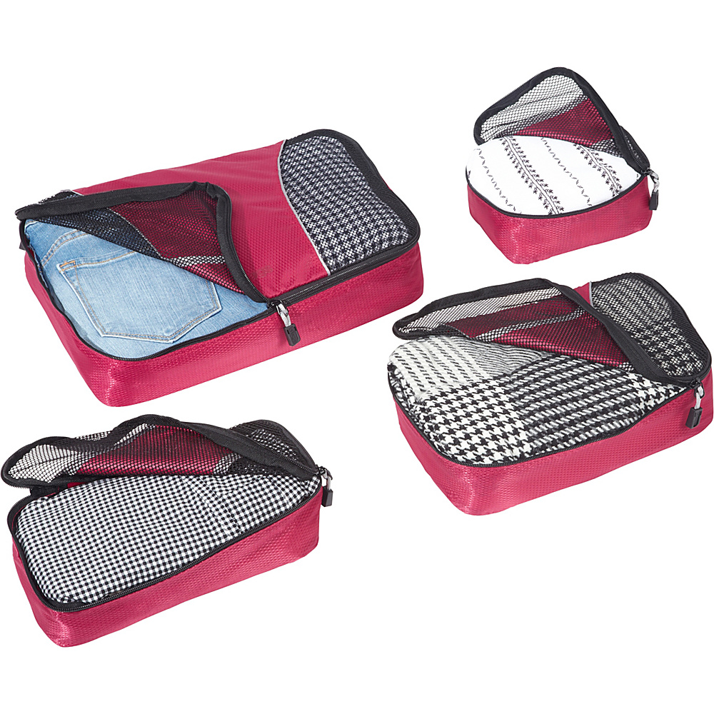 eBags-Packing-Cubes-4pc-Small-Med-Set-5-Colors-Travel-Organizer-NEW thumbnail 11