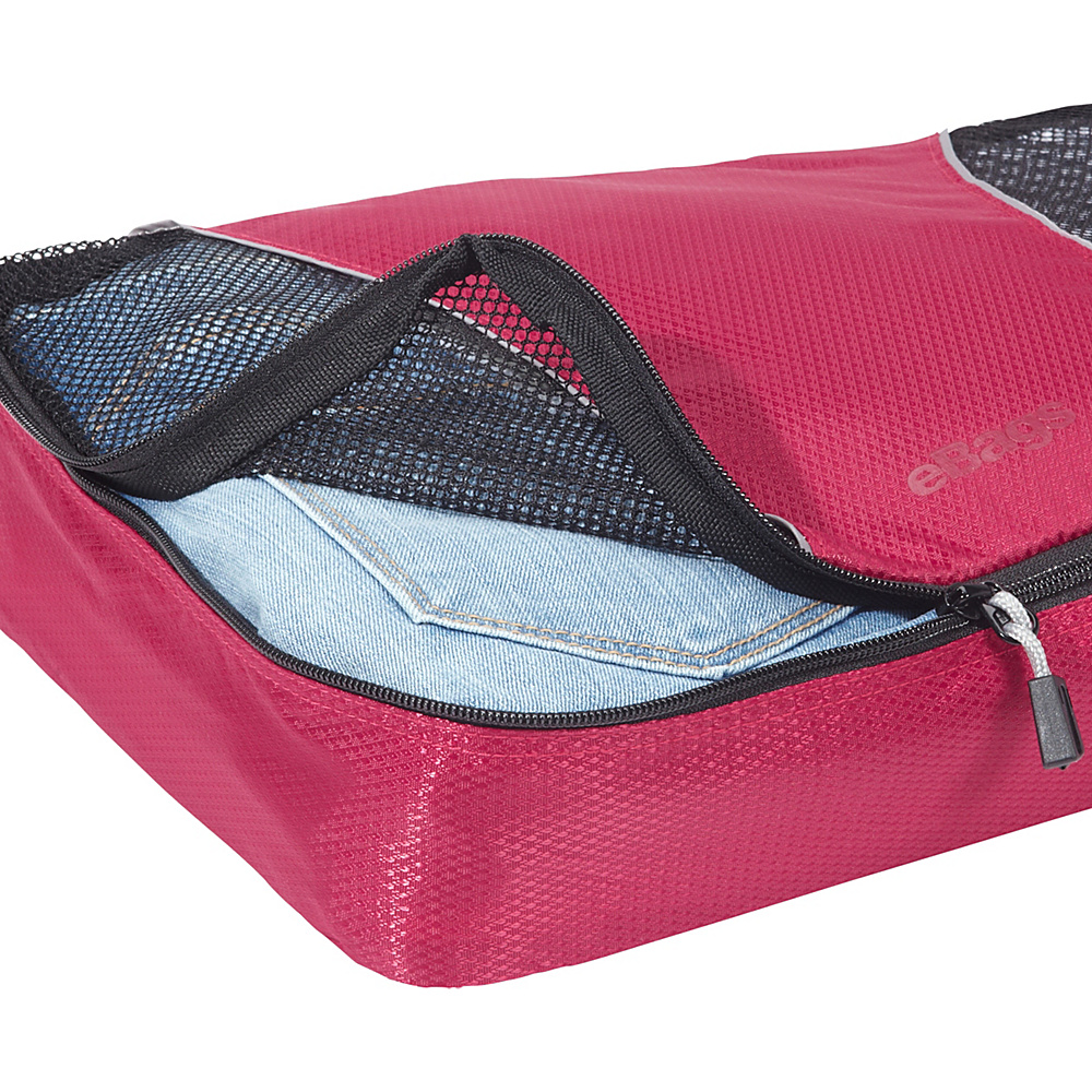 eBags-Packing-Cubes-4pc-Small-Med-Set-5-Colors-Travel-Organizer-NEW thumbnail 12
