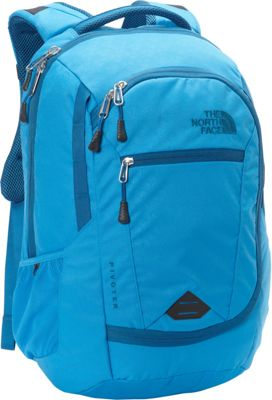 The North Face Pivoter Laptop Backpack Blue Aster Emboss/Banff Blue - The North Face Business & Laptop Backpacks