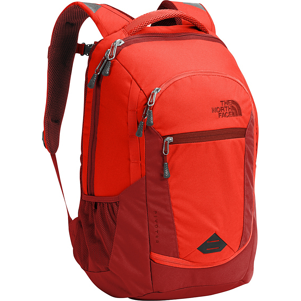 The North Face Pivoter Laptop Backpack Arcyllic Orange - The North Face Business & Laptop Backpacks - Backpacks, Business & Laptop Backpacks