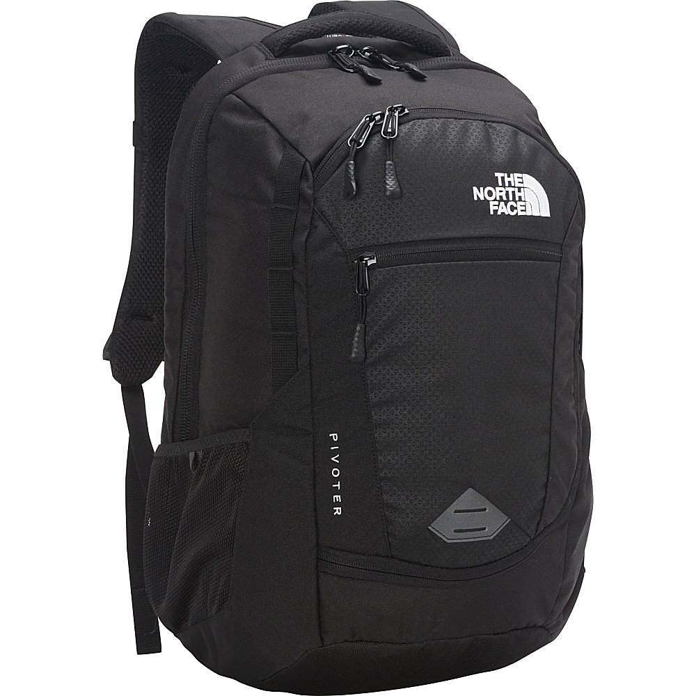 The North Face Pivoter Laptop Backpack TNF Black The North Face Business Laptop Backpacks